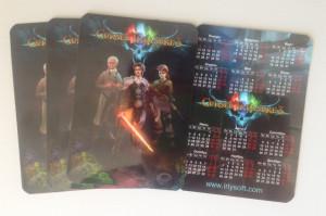 CT3 pocket calendars